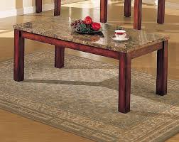 Granite Top Coffee Table Wood Coffee Table Round Szahomen Com