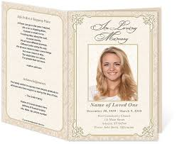 funeral booklets 12 best funeral programs images on program template