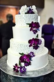 Violet Wedding Flowers - best 25 purple wedding cakes ideas on pinterest purple wedding
