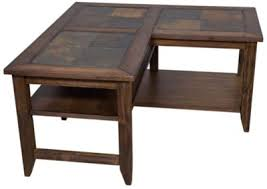 L Shaped Coffee Table Liberty Brookstone L Shaped Coffee Table Homemakers Furniture