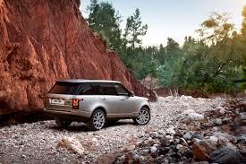 silver range rover 2013 indus silver range rover exterior rear view eurocar news