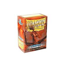 dragon shield sleeves copper 100 accessories magic