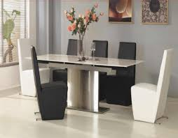 dining room tables white black dining room table with white chairs seats round and roomes