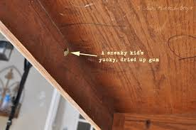 3 sun kissed boys the playroom art table grossest thing ever chews gum frm under desk