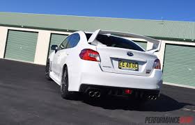 subaru sti 2016 stance 2016 subaru wrx sti review track test video performancedrive