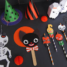Halloween Printable Paper by Halloween Party Favor Toys Printable Paper Craft Fantastic Toys