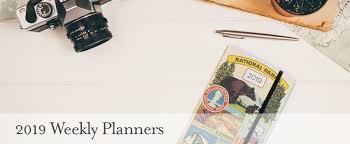 cavallini planner cavallini co 2019 weekly planners