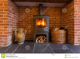 brick fireplace with stove bjhryz com