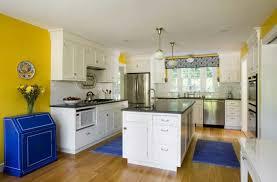 Blue And Yellow Kitchen Ideas Blue Kitchen Walls Perfect Blue Kitchen Wall Colors Ideas Painted
