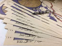 writing parchment paper the mike church show times that try men s souls the story of map parchment signing 4