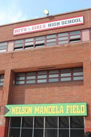 The New South African Flag Brooklyn High Renames Field After Mandela Ny Daily News