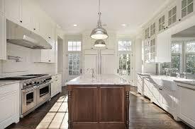 Bright White Kitchen Cabinets 53 Spacious