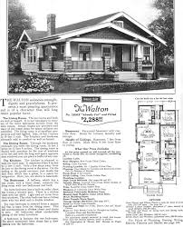 Walton House Floor Plan Edward Fuller Sears Modern Homes
