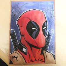 original sketch cards and post it notes by will robson