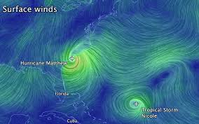 Earth Wind Map News Hurricane Matthew Aborts Loop Ends Chance At Rare Binary