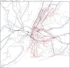 Nj Train Map Subway Maps