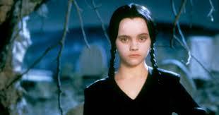 blue wig spirit halloween wednesday addams halloween costume wig dress all black