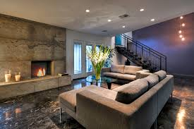 splendid contemporary basement decoration ideas