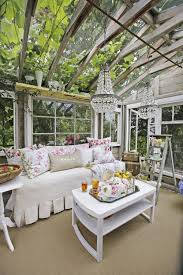 Inside Greenhouse Ideas by Glamorous Garden Shed Makeover Shabby Chic She Shed Decorating