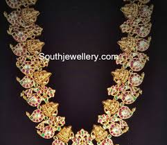 long chain fashion necklace images Kundan long chain latest jewelry designs jewellery designs jpg