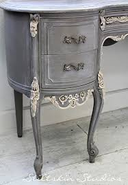 stiltskin studios weathered grey french desk always love her work