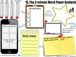 gcse revision planner template gcse revision mats mathedup 5 minute mock paper analysis