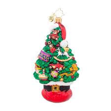 christopher radko ornaments 2015 radko santa tree stack ornament