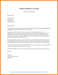 Sample Of Intent Letter For Business Proposal by How To Write A Business Proposal Lettersample Business Proposal