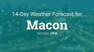 Georgia travel forecast images Macon georgia usa 14 day weather forecast php