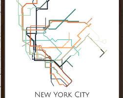 metro york map york city york metro map nyc subway map transit