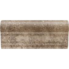 daltile briton bone 2 in x 6 in ceramic chair rail wall tile