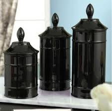 kitchen canisters black 28 black kitchen canister buy tesco country kitchen bread