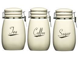 cream kitchen canisters modern tea and coffee canisters home furniture design