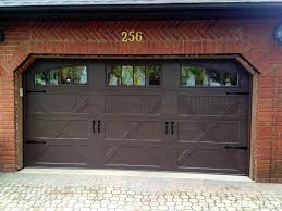 steel carriage garage doors changing a panel is better than changing a full garage door