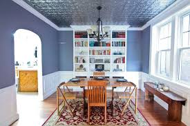dining room ceiling ideas dining room makeover with a tin ceiling hometalk