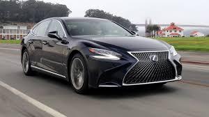 nightfall mica lexus 2018 lexus ls 500h driving exterior u0026 interior footage youtube