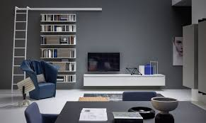 modern living area novamobili about day