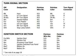 chevy steering column wiring diagram chevrolet wiring diagrams