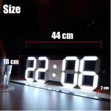 Home Decor Clocks Cozy Modern Digital Wall Clock 46 Modern Digital Wall Clock India