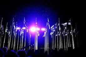 100 Pics Flags 20 000 People Observe As 100 Flags Were Hoisted To Honor Finland U0027s