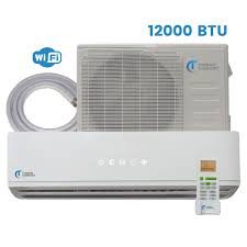 ductless mini split air conditioner thermo comfort mini split system 25 seer 12000 btu with wi fi