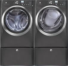 Front Loader Pedestal Electrolux Eifls55qt Front Load Washer U0026 Eimed55qt Electric Dryer