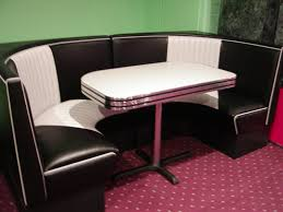 Custom Restaurant Booths Upholstered Booths Black U0026 White Half Circle Diner Booth Basement Lobby Pinterest