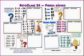 desafio matematico primaria pagina 154 reto matemático 24 piensa rápido retos matemáticos