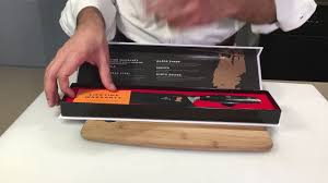 kyoto knives samurai series 8 inch chef knife youtube