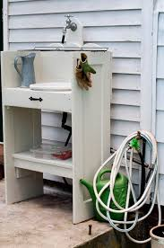 Outdoor Potting Bench With Sink Top Outdoor Garden Sink With 12 Pictures Home Devotee