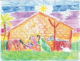 catholic christmas cards prince of peace second grader is christmas card contest winner