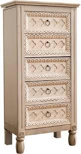 Dresser Top Jewelry Armoire Bungalow Rose Rachida Jewelry Armoire U0026 Reviews Wayfair