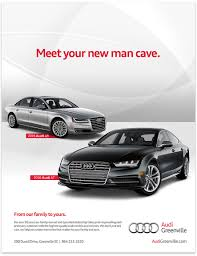 audi ads audi of greenville good omen creative