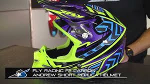 fly motocross helmet fly racing f2 carbon andrew short helmet from motorcycle